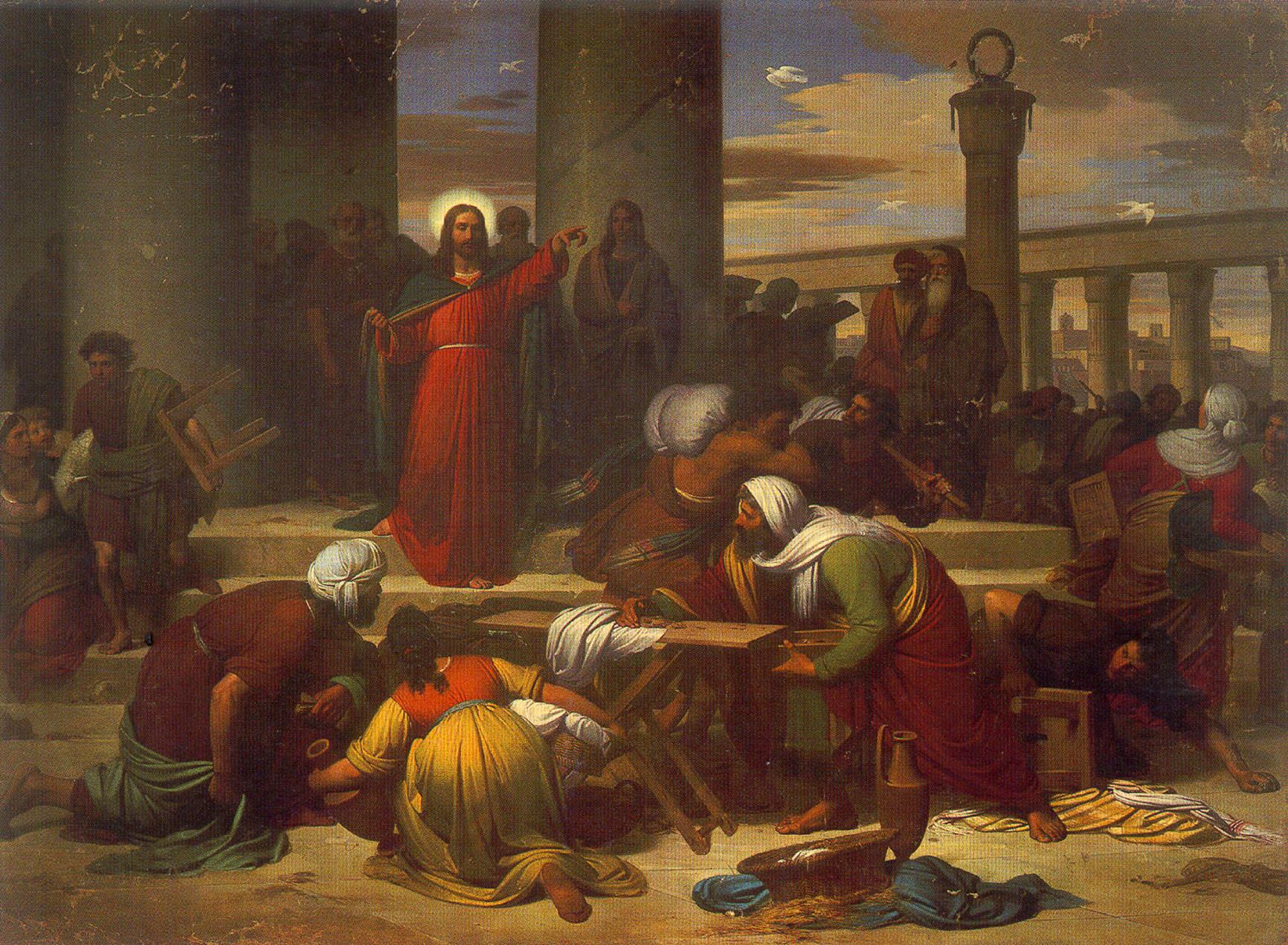 La cacciata dei profanatori dal Tempio