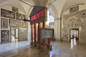 Allestimento mostra Via Emilia 187 a.C. – 2017. Foto © Carlo Vannini